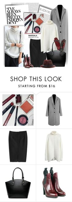 """""""With marsala accessories"""" by ansev ❤ liked on Polyvore featuring rag & bone and BlackFive"""