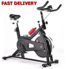 Exercise-Bike-Fitness-Exercise-Cardio-Cycle-15kg-wheel-Workout-Fat-Burning