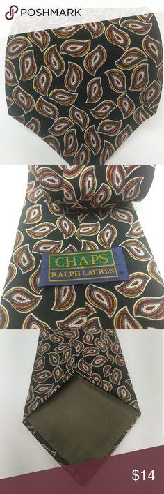 Chaps Ralph Lauren necktie Paisley pattern Ralph Lauren Accessories Ties