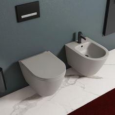 Cosy Bathroom, Urban Farmhouse, Ikea Hack, Terrazzo, Toilet, Sweet Home, House Design, Interior Design, Architecture