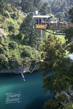 Been and done. Taupo bungy.  North Island, NZ.