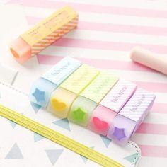 Stationary School, School Stationery, Stationary Design, Menu Design, Design Design, Logo Design, Japanese School Supplies, Office And School Supplies, Stationery Pens