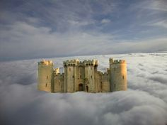 There are no rules of architecture for a castle in the clouds.