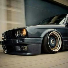 Awesome BMW: BMW E30 3 series slammed on BBS Wheels... cars Check more at http://24car.top/2017/2017/04/03/bmw-bmw-e30-3-series-slammed-on-bbs-wheels-cars/