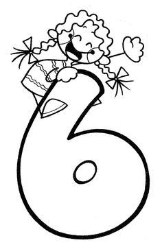 Free printable coloring pages for print and color, Coloring Page to Print , Free Printable Coloring Book Pages for Kid, Printable Coloring worksheet Numbers For Kids, Alphabet And Numbers, Preschool Math, Kindergarten Activities, Coloring Book Pages, Free Printable Coloring Pages, Preschool Painting, Hand Lettering Art, Learning Games For Kids
