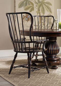 Hooker Furniture Wakefield Rectangular Leg Dining Table With Two Tone  Distressed Finish | Dining Chairs | Pinterest | Wakefield, Hooker Furniture  And ...