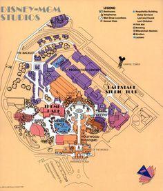 The original Backlot Studio Tour at Disney-MGM Studios