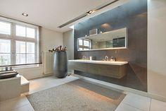 Badkamermeubel betonlook minimalistische badmeubel met beton cire