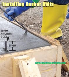 Do you know how to build a concrete slab foundation for your shed? In this article from our FREE SHED PLANS collection, we'll discuss your various options on how best to accomplish this with step by step guides. Deck Building Plans, Building A Shed, Concrete Steps, Concrete Projects, Diy Concrete, Concrete Footings, Concrete Slab Foundation, Shed Construction, Free Shed Plans