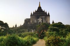 Bagan, formerly Pagan, is an ancient city in the Mandalay Division of Myanmar/Burma/.The ruins of Bagan cover an area of 16 square miles The m. Early Morning In Bagan 3 Bagan, Buddhist Temple, Mandalay, Early Morning, Barcelona Cathedral, Tourism, Deviantart, Temples, Beautiful