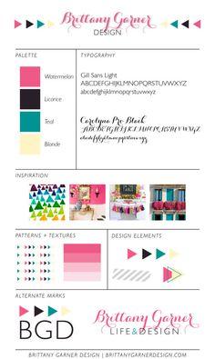 Brand Board - Brittany Garner Design
