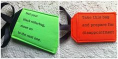DestinationHandmade Luggage Tags