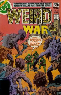 Weird War Tales #69, November 1978, cover by Joe Kubert