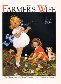 Farmer's Wife Magazine, July 1934 (Mary Anderson)