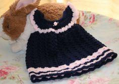 Baby crochet dress baby girl clothes summer by crochetyknitsnbits, £15.99