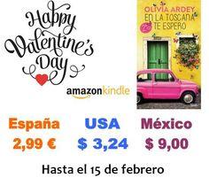 Ofertón EN LA TOSCANA TE ESPERO. Campaña Amazon San Valentín.