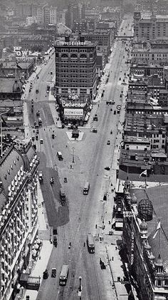 times square looking north from times tower october 1905 by eralsoto, via Flickr