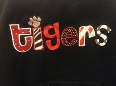 Tigers+SpiritWear+Hooded+Sweatshirt+by+lucindajayneboutique,+$35.00