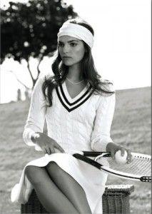 classy tennis outfit! Ralph Lauren, Wimbledon official outfitter, 2010