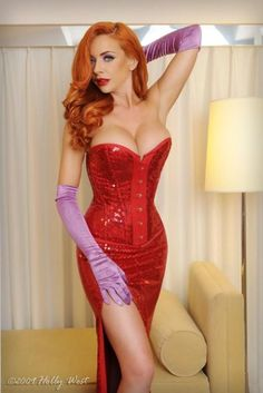 Jessica Rabbit - This is how you do the costume right! Wish I had thought of that.