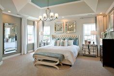 Duke Carolina Model Home Master Bedroom
