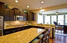 Simple clean cut kitchen