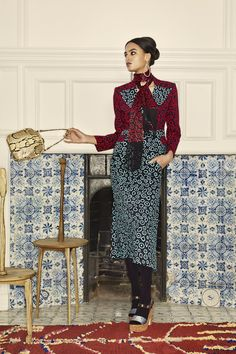 Duro Olowu Herbst 2019 Ready-to-Wear-Kollektion – Vogue - Freizeitkleidung 2019 Fashion Brand, High Fashion, Fashion Show, Vogue Fashion, African Women, African Fashion, African Wear, African Dress, Vogue Paris