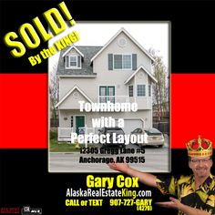 Sold at $376,000. For more Properties FOR SALE by the KING, visit http://alaskarealestateking.com/  Check out the King's reviews from happy clients http://www.zillow.com/profile/Gary-Cox-Realtor/Reviews/
