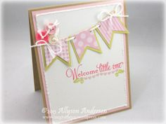 BABY card by Ally