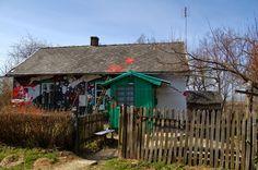 dinks: Painting village house near Kraków