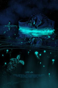 """Life of Pi - Richard Parker"" by Kevin M Wilson / Ape Meets Girl - Hero Complex Gallery Art Sombre, Dark Artwork, Meet Girls, Cinema Posters, Movie Poster Art, Geek Culture, Dragons, Fantasy Art, Cool Art"