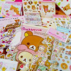 San-x RILAKKUMA Kawaii Stationery Grab Bag