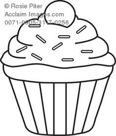 Cupcake verjaardagskalender eventueel met papieren kaarsjes waarop je de naam en…