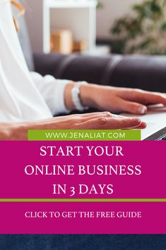 Start Your Online Business in 3 days Social Media Marketing Business, Internet Marketing, Online Business, Business Tips, Building A Business Plan, Assistant Jobs, Virtual Assistant, Work From Home Tips, Business Inspiration
