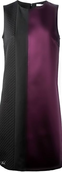 Victoria Beckham ● Purple Sleeveless Dress