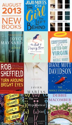 Back-to-school reading with sex appeal! The hottest new books for women —August 2013.