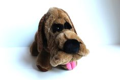 PICK of the LITTER Plush Dog Vintage 1986 Stuffed by TheJellyJar
