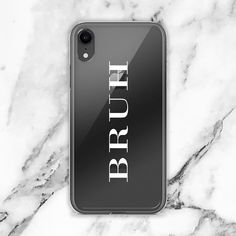 Bruh London Couture Transparent Clear iPhone Case - Thin Iphone 8 Plus Case - - Bruh London Couture Transparent Clear iPhone Case Iphone7 Case, Ipad Case, Cute Phone Cases, Iphone Phone Cases, Iphone Ringtone, Iphone Camera, Phone Covers, Iphone 8 Plus, Free Iphone
