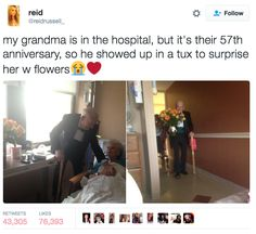 These grandparents who know true love. | 17 Tweets That Prove Grandparents Are Actually The Best