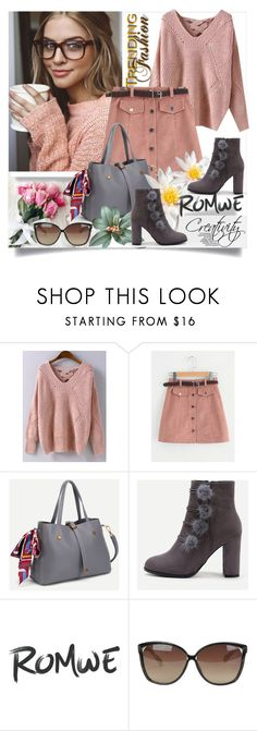 """ROMWE II/4"" by creativity30 ❤ liked on Polyvore featuring Dukes, Linda Farrow and romwe"