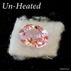 1.5ct loose Unheated Peach Sapphire  super fine by ReneJewelry, $900.00 Peach Sapphire, Jewlery, Dream Wedding, Gemstones, Trending Outfits, Unique Jewelry, Handmade Gifts, Etsy, Kid Craft Gifts