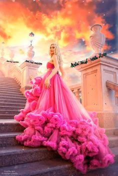 Romantic stairway animation I made ? Beautiful Women Videos, Beautiful Love Pictures, Cute Love Images, Beautiful Photos Of Nature, Beautiful Fairies, Beautiful Fantasy Art, Beautiful Gif, Beautiful Roses, Princesas Disney Zombie