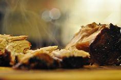 Slow Roast Pork w/ Sticky Sweet Balsamic Glaze