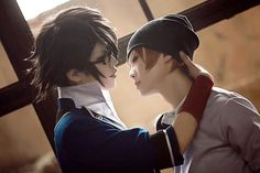 Closer! Closer! :3 K Project! Fushimi x Yata Cr: Cosplay Paradise