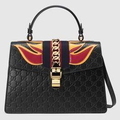 Gucci Women - Sylvie Gucci Signature bag - 431665CWCJG8541