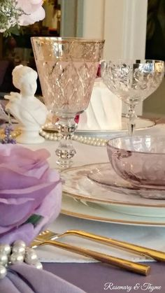 Rosemary and Thyme: Romantic Table For Two Blog Hop