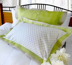 Easy To Sew Pillow Shams: Sewing a Euro Sham Pillow with Flanges   Euro shams  Euro and    ,