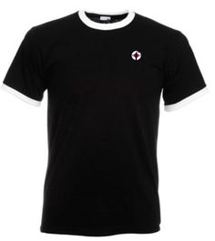Northern Soul Ringer T-Shirts Black & White from Men Of Distinction