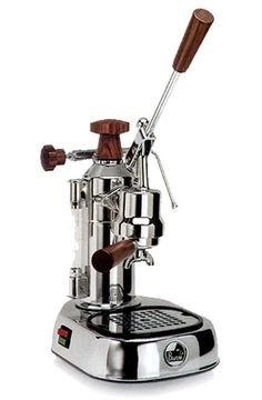 Europiccola ELH by La Pavoni. I don't know how to work a manual espresso machine but for this, I'd learn! Europiccola ELH by La Pavoni. I don't know how to work a manual espresso machine but for this, I'd learn! Cappuccino Maker, Cappuccino Coffee, Espresso Maker, Coffee Cafe, Coffee Shops, Coffee Mugs, Machine A Cafe Expresso, Espresso Machine Reviews, Coffee Machine Design