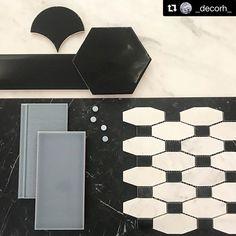 Voimakkailla väreillä ja kontrasteja käyttämällä rakennetaan rohkeita kylpyhuoneita aivan erityisille ihmisille.  @_decorh_  #_decorh_ #kaakelit #kaakeli #laatat  #laatta #tiles #tile Office Supplies, Cards Against Humanity, Instagram, Eten